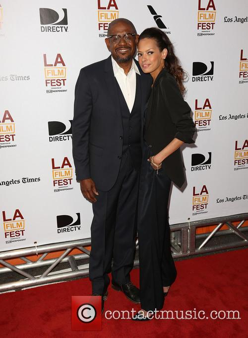 Forest Whitaker and Keisha Whitaker 5