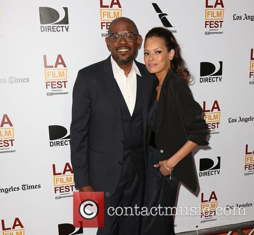 Forest Whitaker and Keisha Whitaker 6