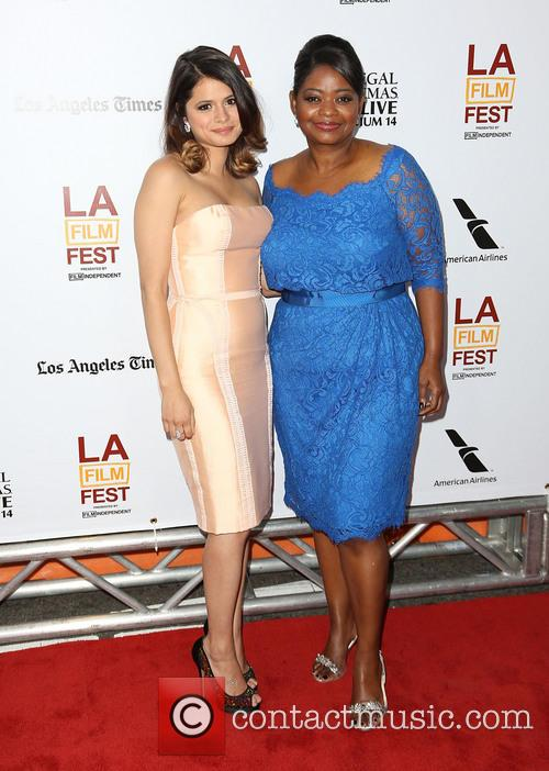 Melonie Diaz and Octavia Spencer 6