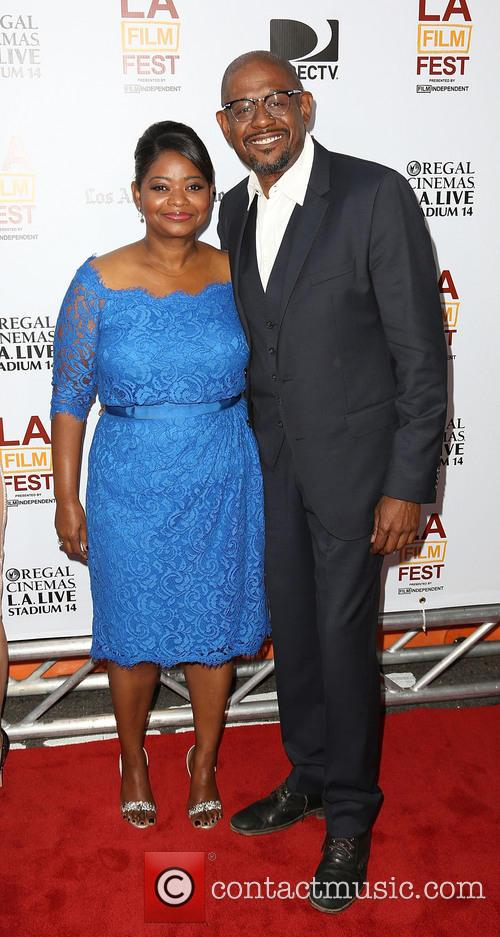 Octavia Spencer and Forest Whitaker 7