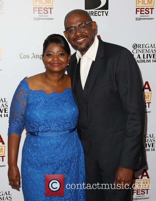 Octavia Spencer and Forest Whitaker 5
