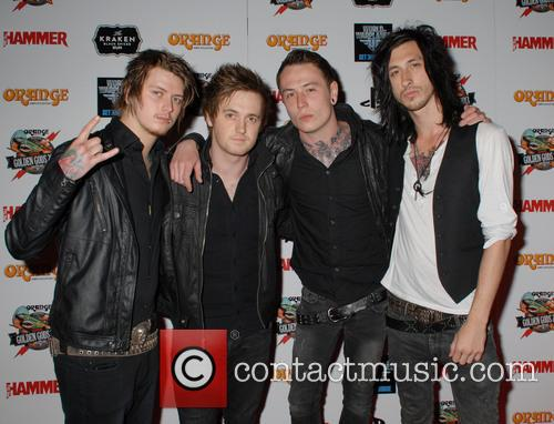 Asking Alexandria, Ben Bruce, Sam Bettley and James Cassells 3