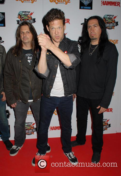 Jason Newsted, Mike Mushok and Jesus Mendez Jr 4