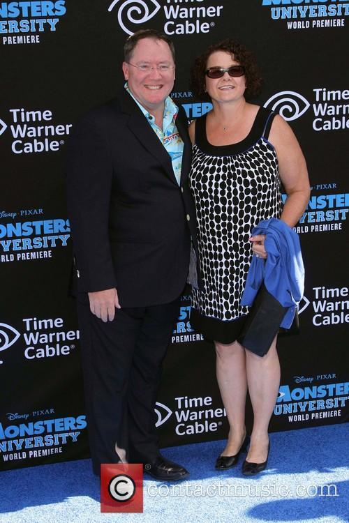 John Lasseter, Nancy Lasseter, El Capitan Theatre, Disney
