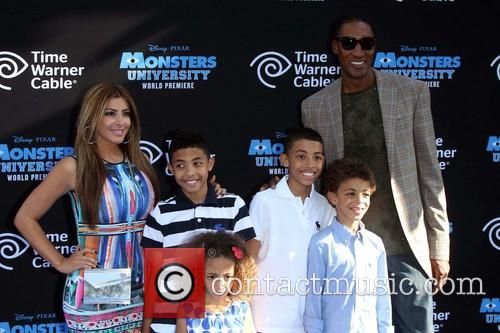 Pixar, Scottie Pippen and Larsa Pippen 1