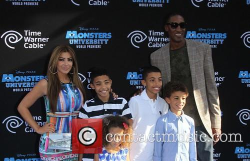 Pixar, Scottie Pippen and Larsa Pippen 5