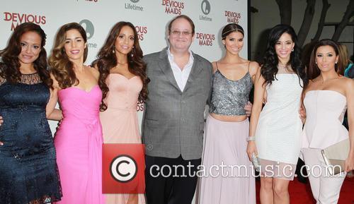 Judy Reyes, Ana Ortiz, Dania Ramirez, Marc Cherry, Roselyn Sanchez, Edy Ganem and Eva Longoria 6