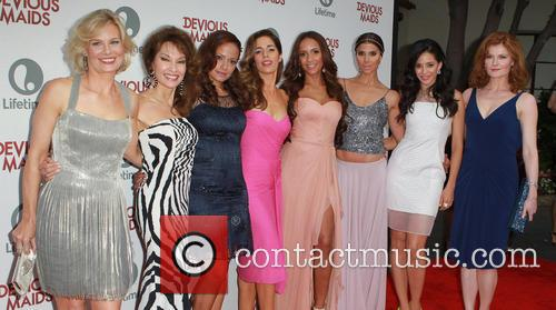 Melinda Page Hamilton, Susan Lucci, Judy Reyes, Ana Ortiz, Dania Ramirez, Roselyn Sanchez, Edy Ganem and Rebecca Wisocky 1