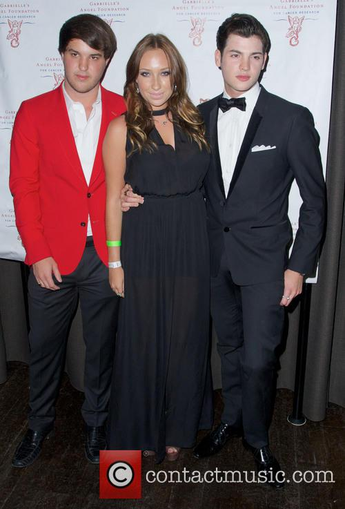 Gabrielle, Andrew Warren and Peter Brant Jr 9