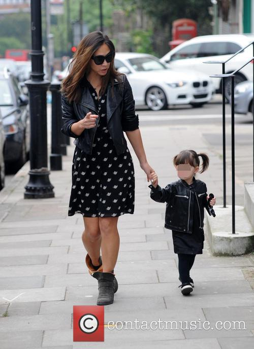 Myleene Klass and Hero 3