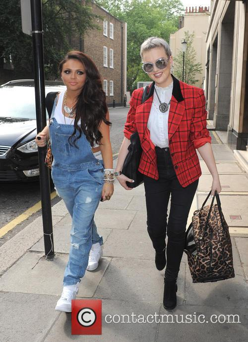Jesy Nelson and Perrie Edwards 1