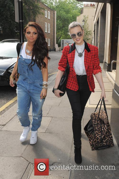 Jesy Nelson and Perrie Edwards 2