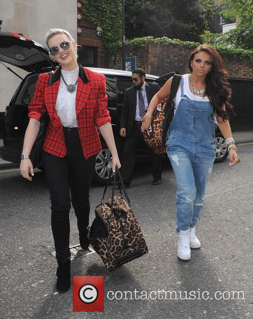Perrie Edwards and Jesy Nelson 2