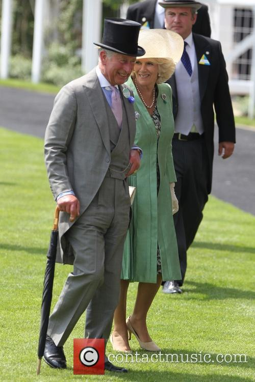 Queen Elizabeth Ii, Charles, Prince Of Wales, Camilla and Duchess Of Cornwall 4