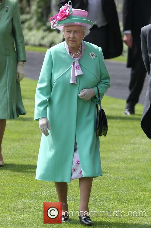 queen elizabeth ii day two of royal 3725726