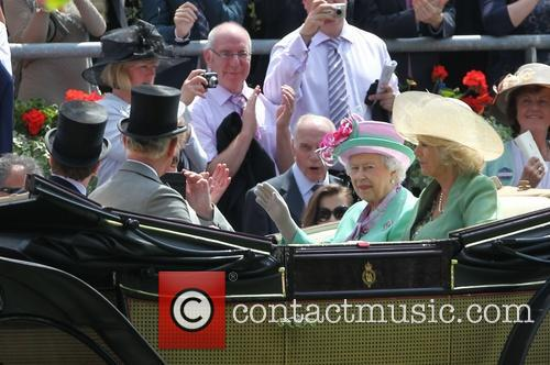 The Queen and Duchess Of Cornwall 2