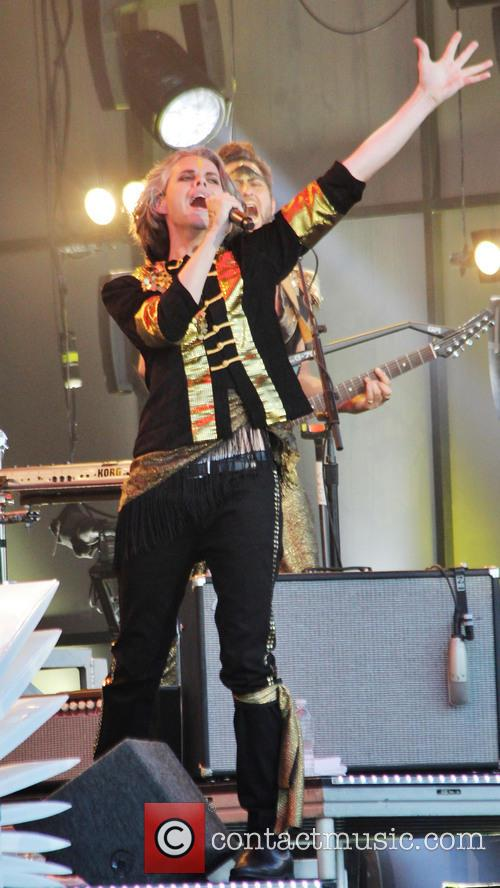 Empire of the Sun performing on Jimmy Kimmel Live