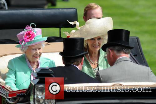 Queen Elizabeth II, Camilla and Duchess of Cornwall 4