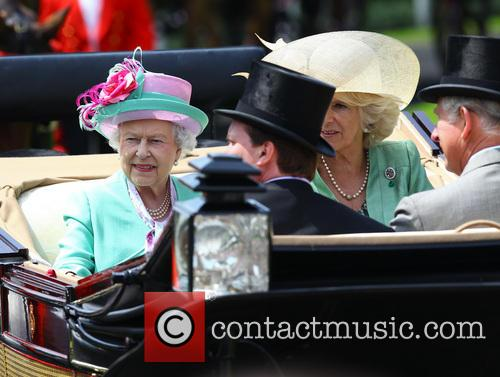 Queen Elizabeth II, Camilla, Duchess of Cornwall, Charles and Prince of Wales 3