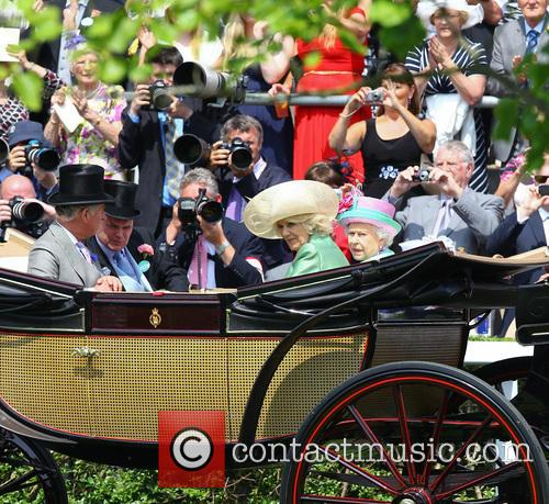 Queen Elizabeth II, Camilla, Duchess of Cornwall, Charles and Prince of Wales 2