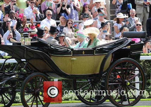 Queen Elizabeth II, Camilla, Duchess of Cornwall, Charles and Prince of Wales 4