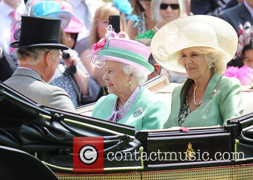 Queen Elizabeth II, Camilla, Duchess of Cornwall, Charles and Prince of Wales 5