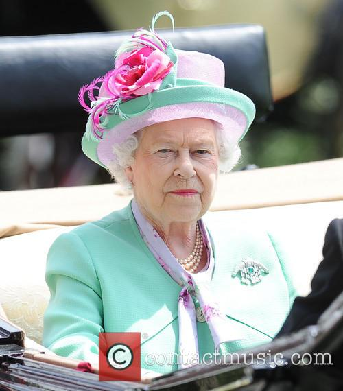queen elizabeth ii day two of royal 3726426