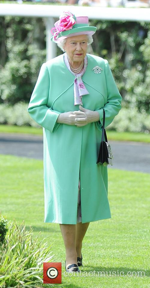 queen elizabeth ii day two of royal 3726430