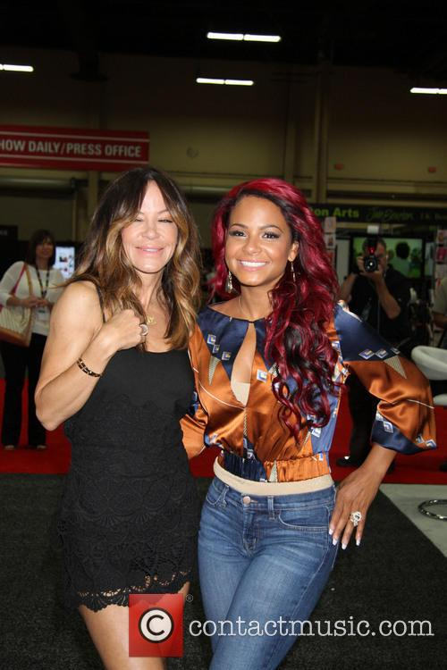 Robin Antin and Christina Milian 4