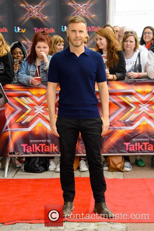 gary barlow red carpet arrivals for the 3725529