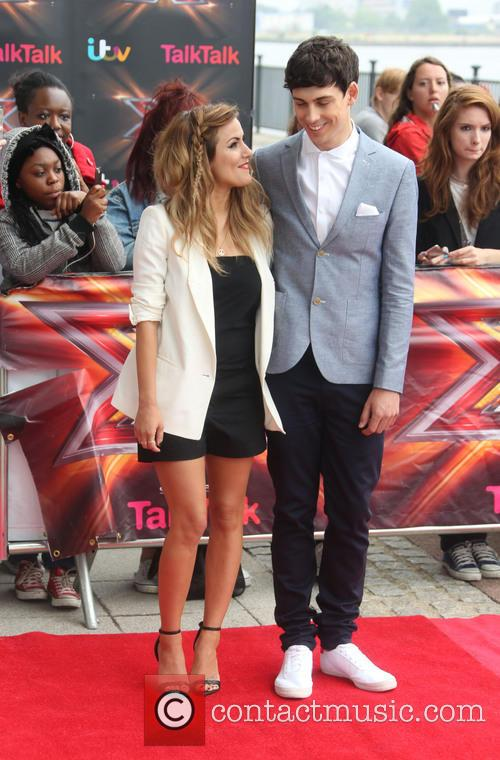 Caroline Flack and Matt Richardson 5
