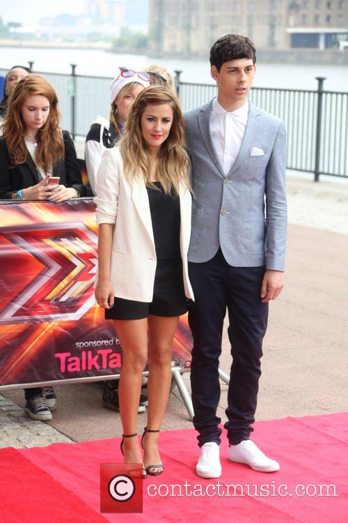 Caroline Flack and Matt Richardson 6
