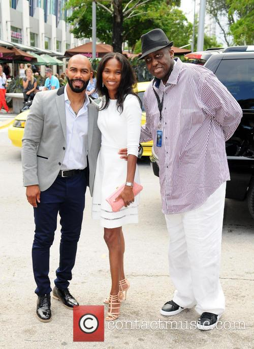 Omari Hardwick, Nicole Friday and Bill Duke 2