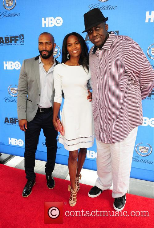 Omari Hardwick, Nicole Friday and Bill Duke 3