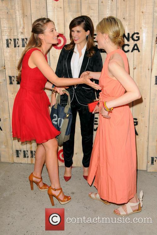 Lauren Bush Lauren, Sophia Bush and Mamie Gummer 1