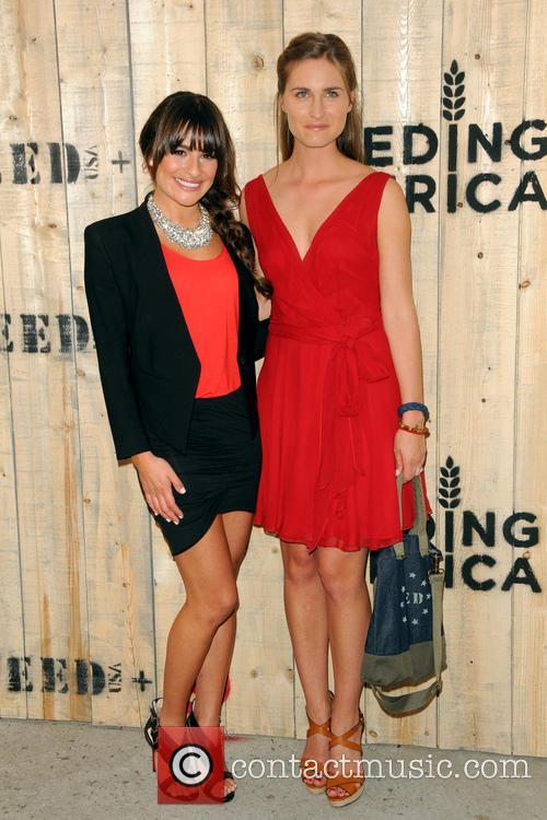 Lea Michele and Lauren Bush Lauren 5