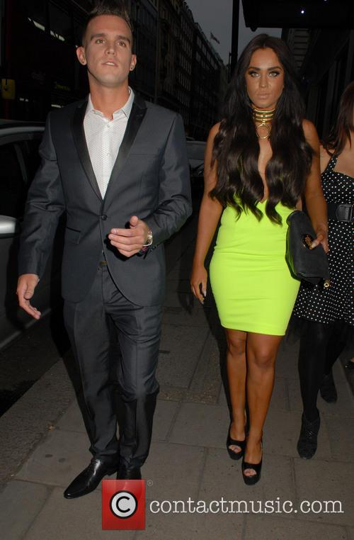Vicky Pattison and Gary Beadle 2