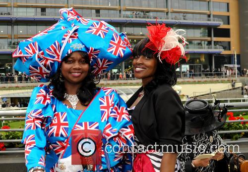 atmosphere ladies day at royal ascot 3727646
