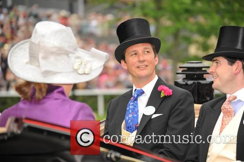 Princess Eugenie, Duchess Of Argyll, Duke Of Argyll and The Hon. Hugo Palmer 2
