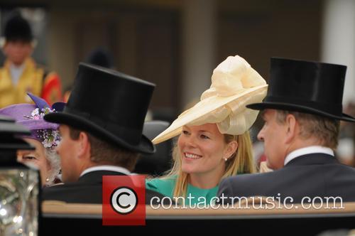 Queen Elizabeth, Duke of York and Peter Phillips 1