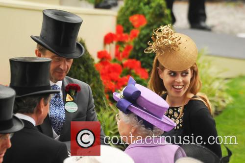 Princess Beatrice and Queen Elizabeth Ii 2