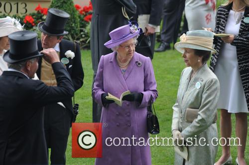 Queen Elizabeth II, Princess Anne, John Warren, Royal Ascot