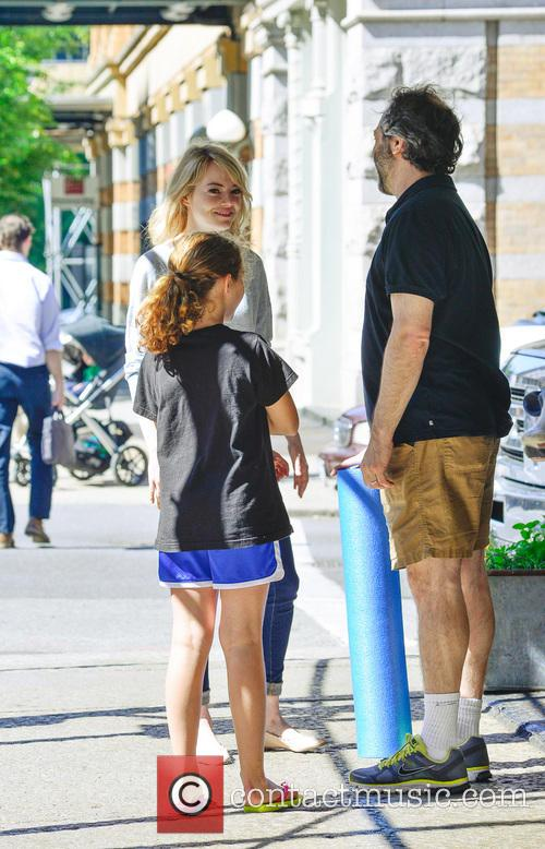 Emma Stone and Judd Apatow 2