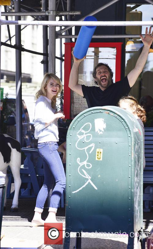 Emma Stone and Judd Apatow 10