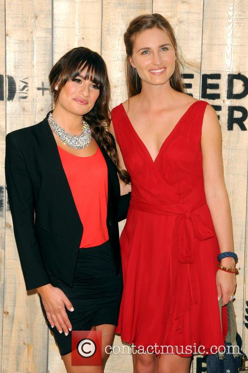 Lea Michele and Lauren Bush Lauren 2