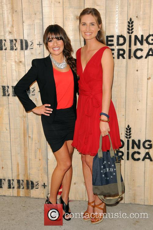 Lea Michele and Lauren Bush Lauren 3