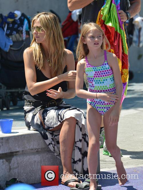 Heidi Klum and Leni Samuel 3