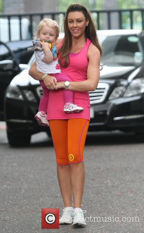 Michelle Heaton and Faith Hanley 2