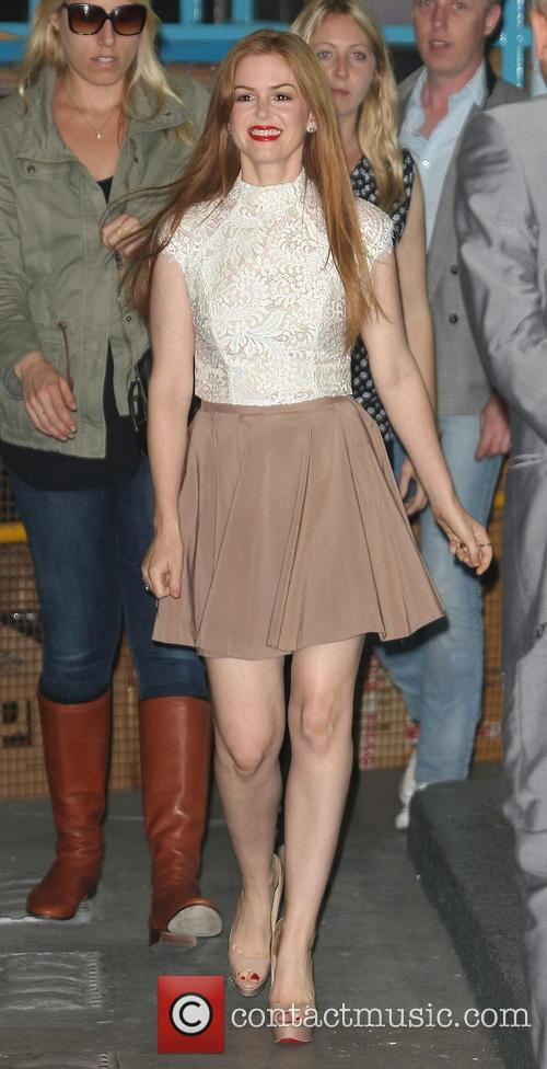 isla fisher celebs at itv 3727606