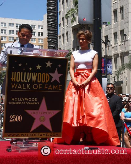 Benny Medina and Jennifer Lopez 1